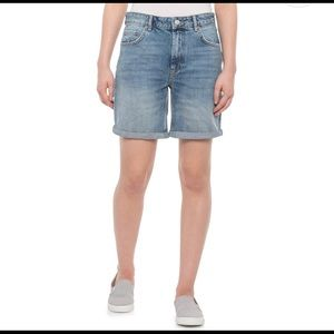Free People Long denim shorts, 28 waist